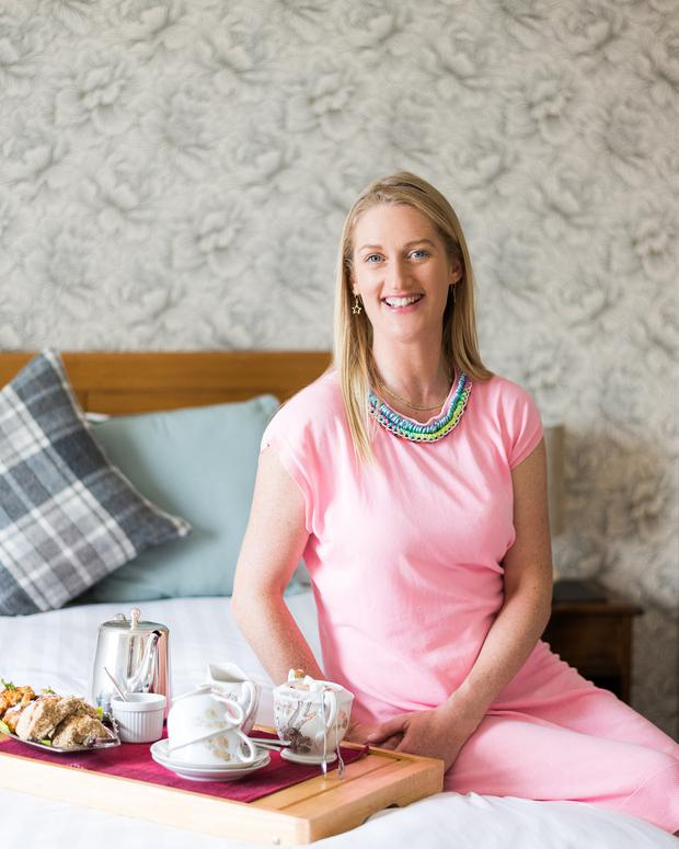 All in the details: Sorcha Molloy of Heron's Rest B&B. Photo: Julia Dunin Photography