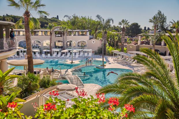 The Oasis Pool at Forte Village