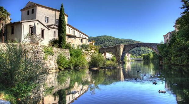 The old bridge of Le Vigan in Gard, France. PA Photo/iStock.