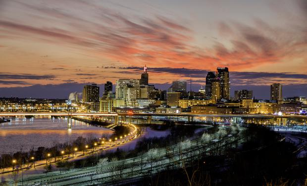 Taken with the twin cities - Independent ie