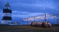 A harvest moon supper at Hook Lighthouse - one of some 700 'Taste the Island' events this year.