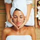 Relaxation time... what's your favourite spa? Stock Photo