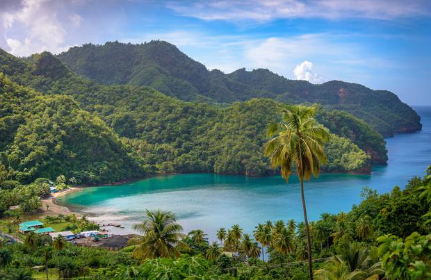 A bay in St Vincent. iStock/PA.
