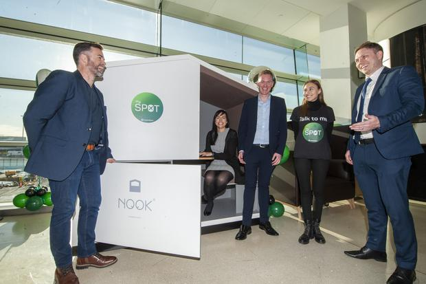 Dublin Airport is trialling 'MyStop' pods and seats