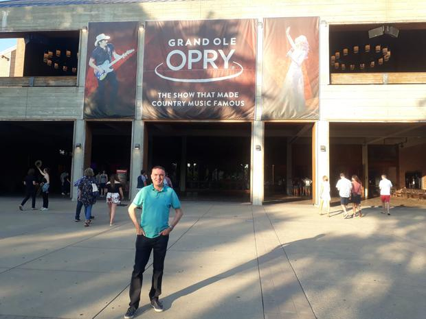 Eugene Masterson at the Grand Ol' Opry