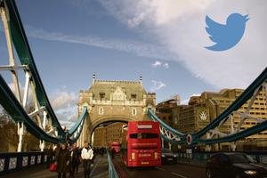 Pol O Conghaile was guided around London by Twitter.