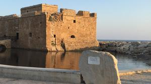 Old Harbour, Paphos (stock photo)