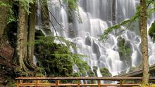 Americans have been fairly inconsistent in their use of the word 'awesome' — but at Ramona Falls in Oregon, 'awesome' doesn't come close