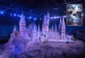 A 1:24 scale model of Hogwarts at Warner Brothers Studios, London. Photo: Pól Ó Conghaile