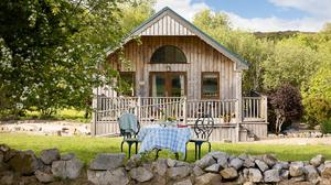 A self-catering eco-cabin at Ard Nahoo, Co Leitrim