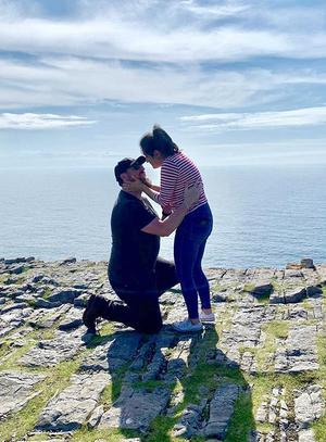 """""""Being proposed to on Inis Mór!"""" - Bethany Nishimoto"""