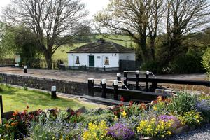 Coolnahay Harbour near Mullingar on the Royal Canal