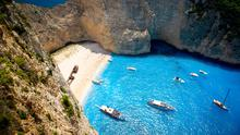 'Shipwreck Beach' in Zakynthos island Photo: Deposit