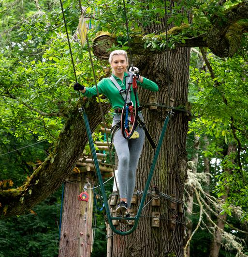 Zipit Forest Adventures at Lough Key Forest Park