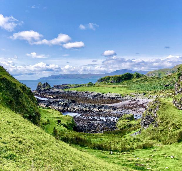 'This is the beautiful island ofKerrera in the Scottish Hebrides,' writes Mary McCarthy. Photo: Twitter/ @marymccarthy123