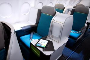 Aer Lingus Business Class cabin