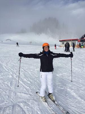 Fran feels fearless on the slopes