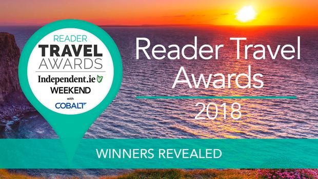 Reader Travel Awards 2018, as revealed in Weekend Magazine and Independent.ie.