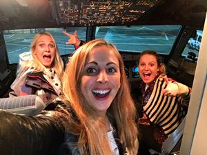 """'Best night every flying on our very own @British_Airways plane!!!!!"""" Photo: Twitter/LittleLaura1"""