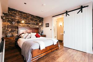 Luxe bedrooms at Larchfield Estate