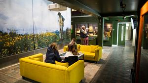 The newly revamped Patrick Kavanagh Centre in Inniskeen, Co Monaghan