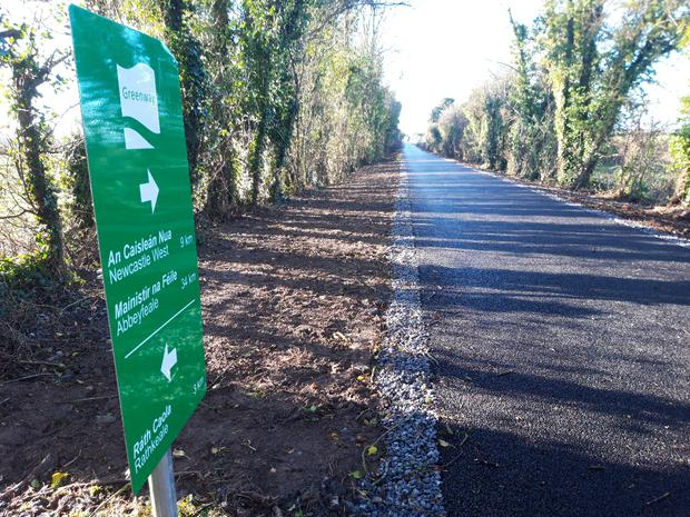 The upgraded Limerick Greenway will open this year