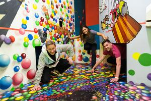 The Boda Borg activity room at Lough Key Forest and Activity Park, Boyle, Co Roscommon