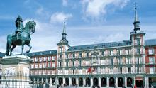 Capital life: The Plaza Mayor in Madrid, a city of many attractions, including a vibrant nightlife