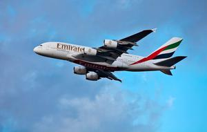 Emirates A380. Photo: Deposit