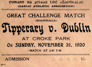 The GAA Museum's Bloody Sunday exhibition
