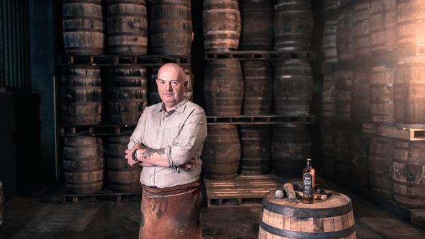 Alastair Kane, a cooper at Bushmills Distillery