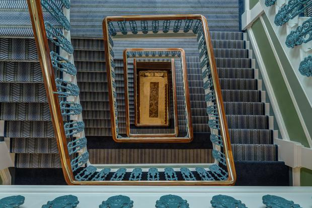 The Shelbourne's Grand Staircase