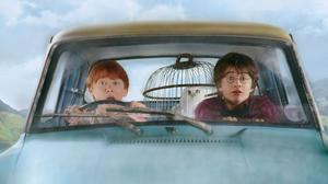 A scene from Harry Potter.