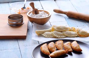 The area's traditional fare, the Cornish Pasty
