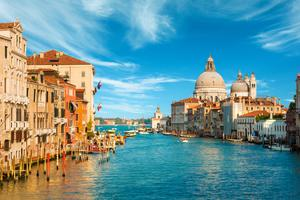 'The idea was to spend a few weeks in Venice, both working and playing' (stock photo)