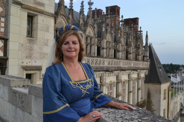 Madeleine steps back in time at Chateau d'Amboise