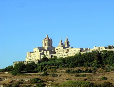 You can take trips to the likes of Mdina in Malta, above, while cruising round the Mediterranean in luxury