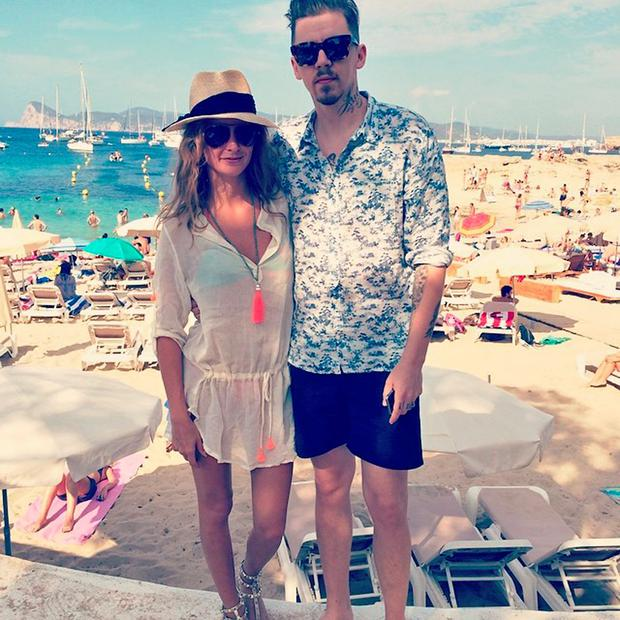 Millie Mackintosh and husband Professor Green