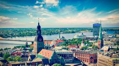 Landscape of Riga