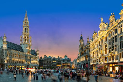 Capital of cool: Brussels' Grand Place