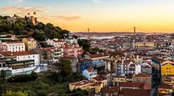 Lisbon - the entire city is thronging with visitors.
