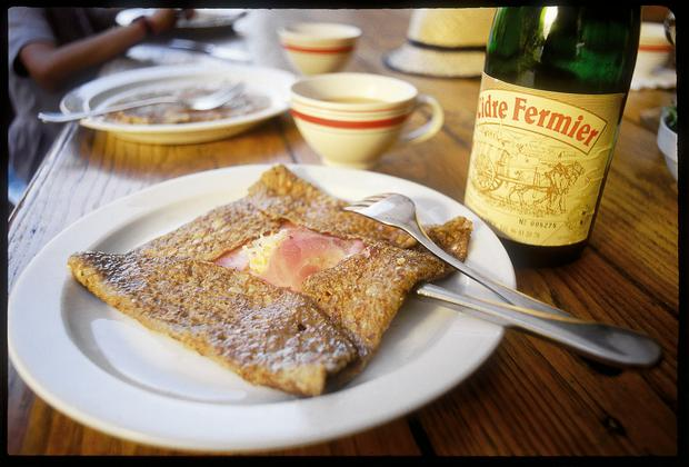 Galette Crepe and Cidre