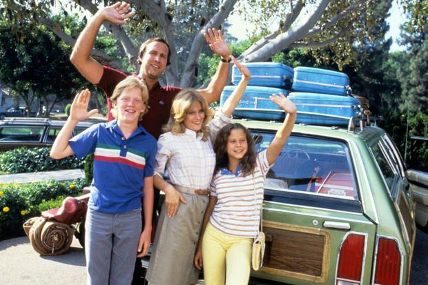 Road trip: The Griswolds found driving in foreign countries a challenge in National Lampoon's European Vacation