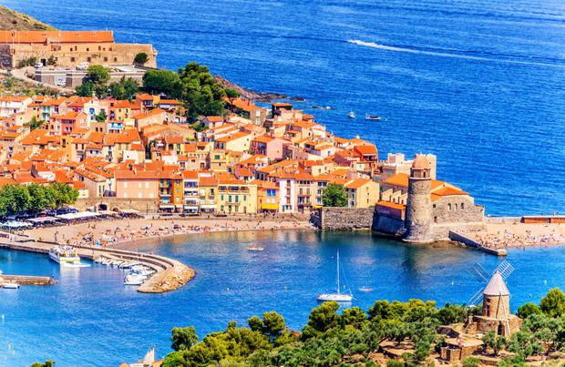Collioure harbour