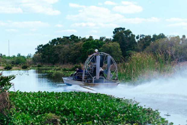 Take an Everglades airboat ride with WootensEverglades.com