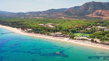 The beach at Forte Village, Sardinia