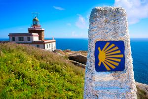 Cape Finisterre lighthouse in Spain. Photo: Deposit