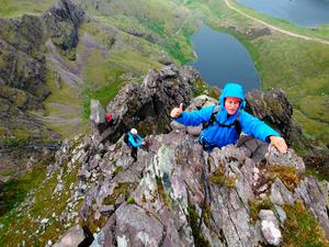 Climbing in Kerry's Reeks District. Photo: KerryClimbing.ie