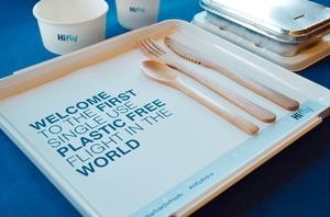Hi Fly's plastic-free flight