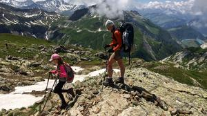 Hiking the epic Tour du Mont Blanc, which goes through the French, Italian and Swiss Alps